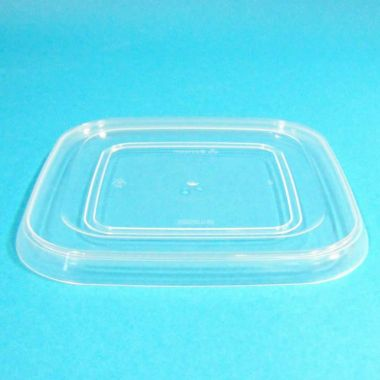 Bonson® Tamper Evident Square Lid - 120mm