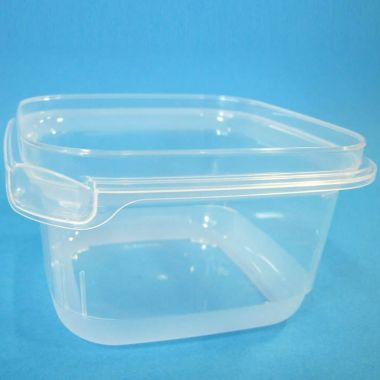 Bonson® Tamper Evident Square Container - 605ml
