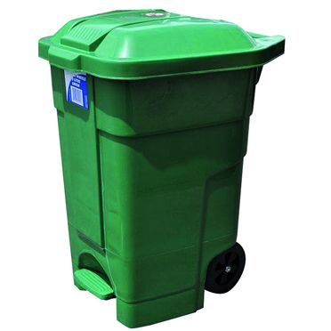 Heavy Duty Bin with Wheels (70L)