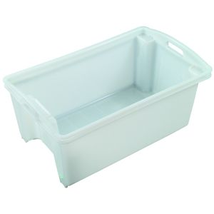 55L Nally Solid Plastic Crate