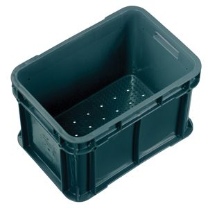 20L Nally Solid Crate with Drainage holes in base