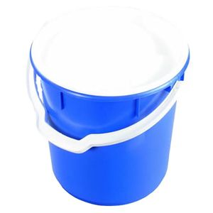 22L Solid Round Bucket with Handle