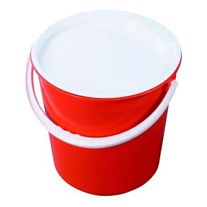 13.6L Solid Round Bucket with Handle