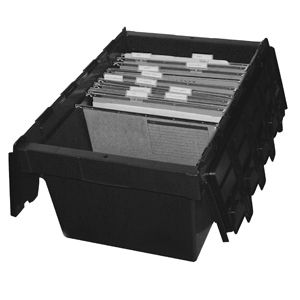 68L Recycled Security Crate with Lid