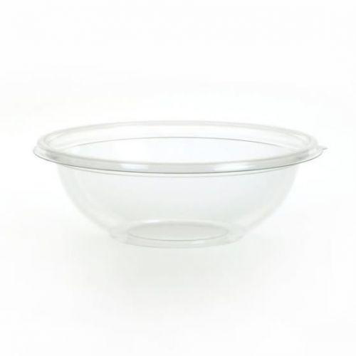 Sabert™ 24oz Anti Fog PET Clear Round Bowl - Poke Bowl