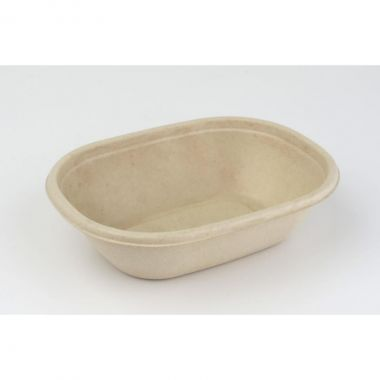 Sabert™ Pulp 770ml Oval Bowl