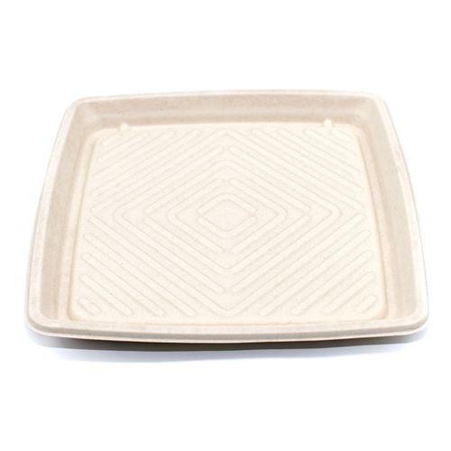 "Sabert™ Pulp 12"" Square Platter"