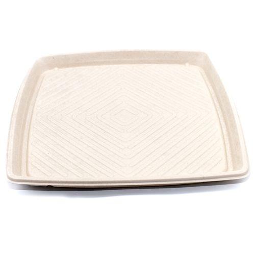 "Sabert™ Pulp 16"" Square Platter"
