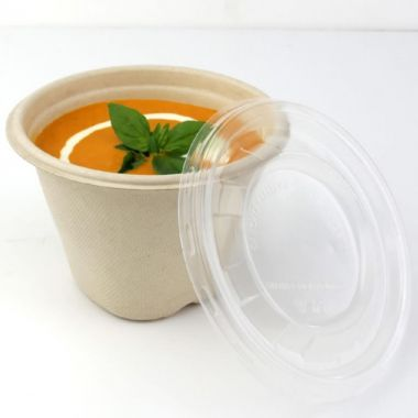 Sabert™ Pulp Soup Cups Lid