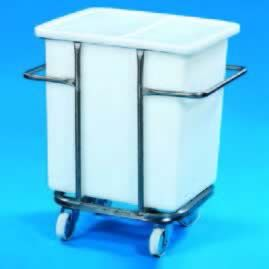 125L Tank & Wheeled Stainless Steel Support Frame