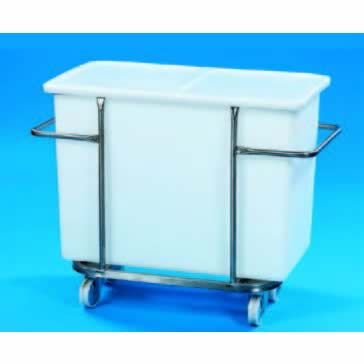 190L Tank & Wheeled Stainless Steel Support Frame
