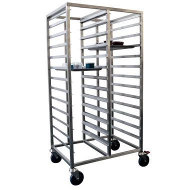 26 Tray Heavy Duty Double Gastronorm Trolley