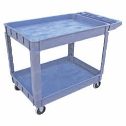 2 Shelf Serving Cart