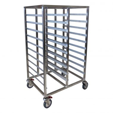 20 Tray Heavy Duty Double Gastronorm Trolley