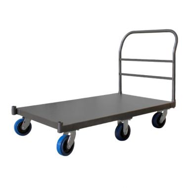 6 Wheel Rocking Platform Trolley (760 x 1525mm)