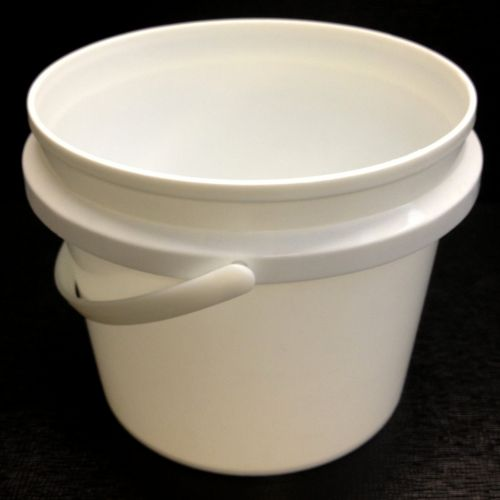 1L Tamper Evident Food Bucket with handle