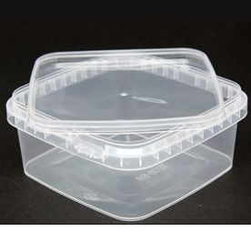 Tamper Evident Square container & Lid - 500ml