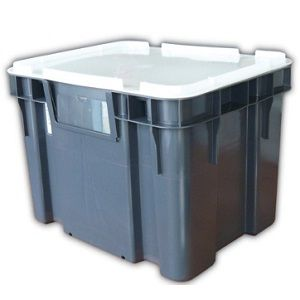 45L Nally Solid Intelli-Tote Crate