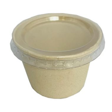 BetaEco™ PET Lid for 4oz Portion Container