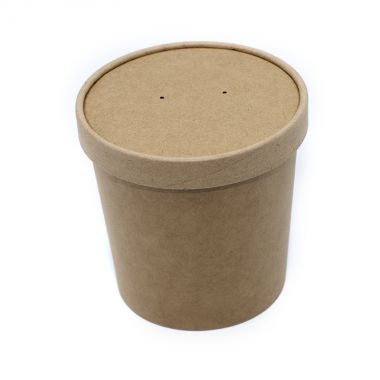 BetaKraft™ 26oz Round Container with Lid