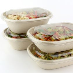 Sabert™ Compostable Oval Bowls