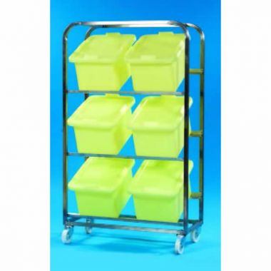 23L Tub - Mobile Rack (6 tub capacity)