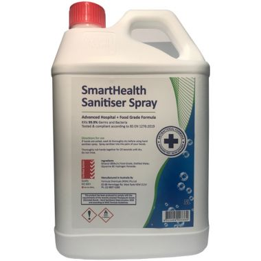 5L Antibacterial 80% Alcohol Based Liquid Hand Santiser