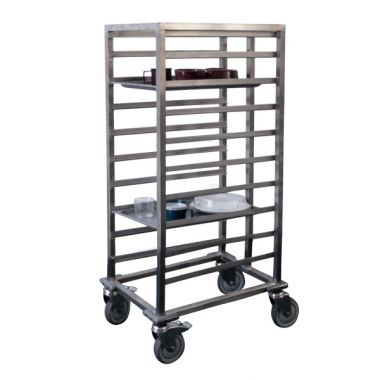 10 Tray Heavy Duty Gastronorm Trolley
