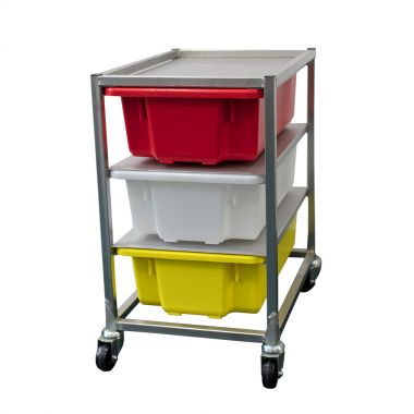 Crate Rack/Trolley with 3 x 32L Crates (MP7)