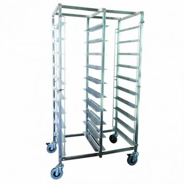 20 Tray Double Tray Trolley